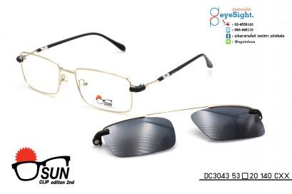 glasses SUN CLIP DC3043 53[]20 140 CXX-